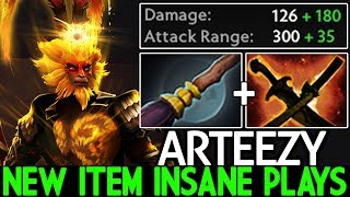 ARTEEZY [Monkey King] New Item Imba Right Click Insane Plays 7.23 Dota 2