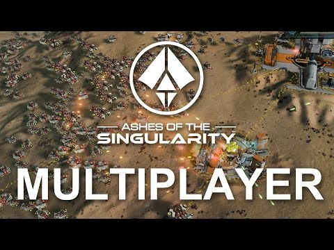 Ashes of the Singularity - 1vs1 MAD EXPANSION | Multiplayer Gameplay