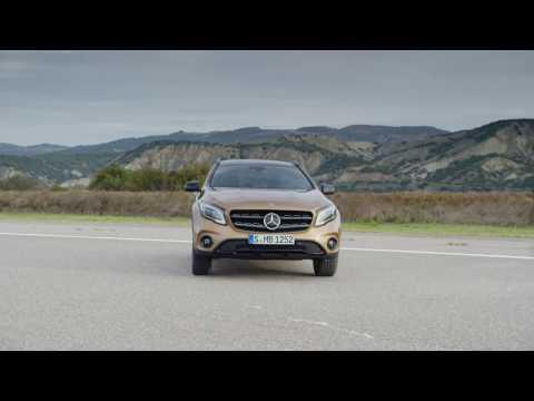 2018 Mercedes GLA facelift design