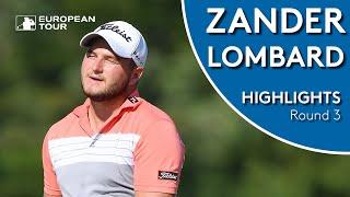 Zander Lombard Highlights | Round 3 | Alfred Dunhill Championship 2018