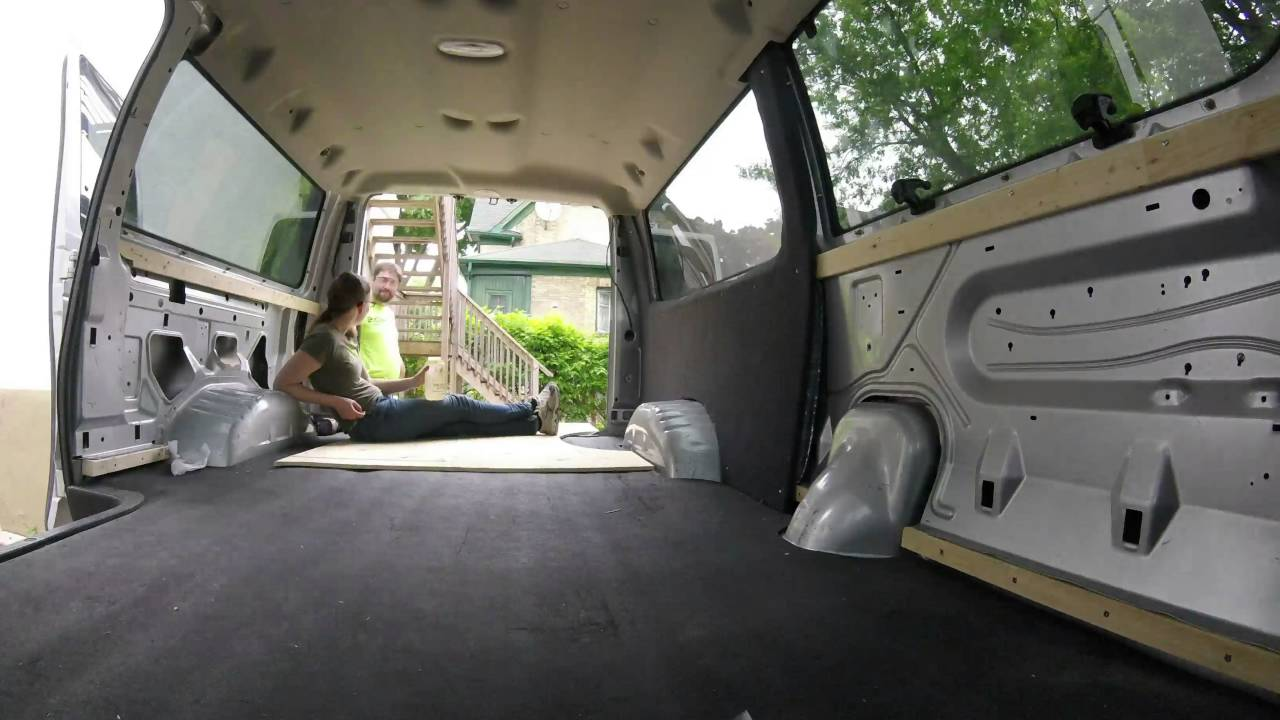 Van Conversion Installing Walls