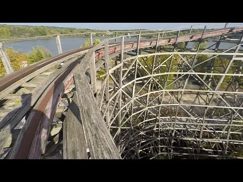 "Abandoned Theme Park POV Parkour ""Geauga Lake """