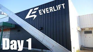 EVERLIFT内装工事始まりました【ジム作り】