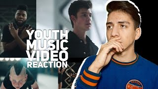 Shawn Mendes- Youth ft Khalid (Music Video)| E2 Reacts mp3