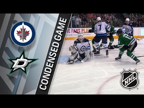 Winnipeg Jets vs Dallas Stars – Feb. 24, 2018 | Game Highlights | NHL 2017/18. Обзор