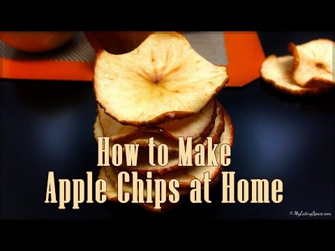 How to Make Apple Chips in oven