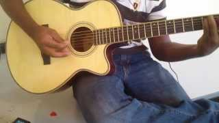 chahun main ya na Aashiqui 2 guitar cover with piano chords [ chahu me chahoo mai ]