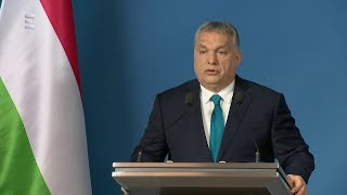 Évindító Kormányinfó Orbán Viktorral - ECHO TV