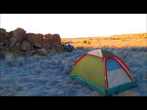 Africa Cycling-Camping in the Namib desert