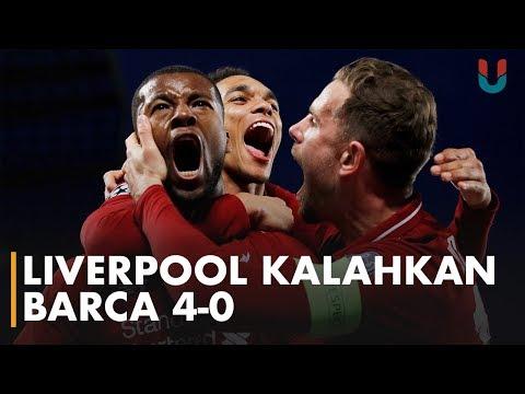 Liverpool, 'Raksasa' Penghancur Mimpi Barcelona