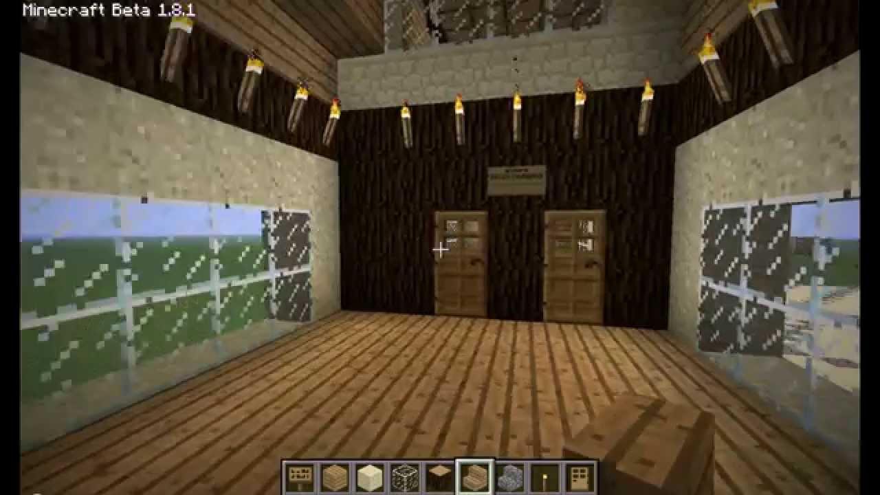Minecraft villa een geheime huis maken met lava zonder for Huis maken minecraft