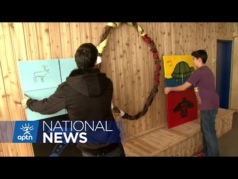 New cultural lodge at Ottawa school helps settle Indigenous students into new year | APTN News
