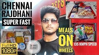 Chennai RAJDHANI Super Fast | Travel Review | Tamil Vlog |#travelreview #train #chennai #delhi #vlog