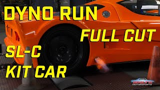 720 HP Superlite SL-C Kit Car Dyno Run  **FULL CUT**