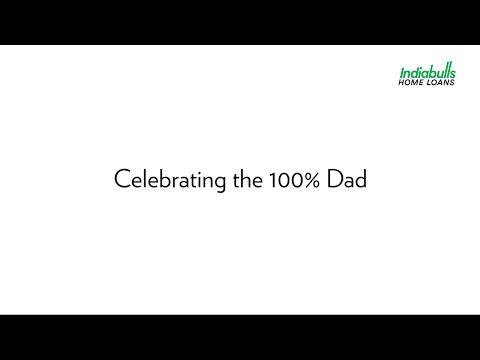 Celebrating the 100% Dad