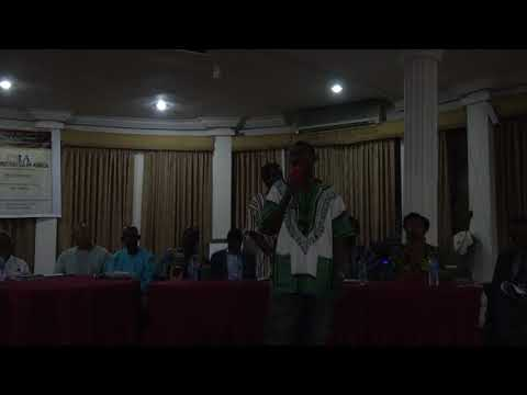 Bomani at Repatriation & Investment Conference - Ghana Nov 2017 Tour