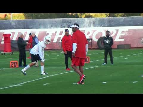 Sights and Sounds of Arizona Spring Practice