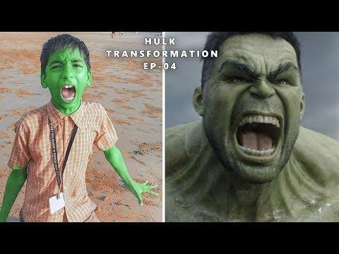 The Hulk Transformation Ep- 04 | Hulk Smash | VFX Film Test