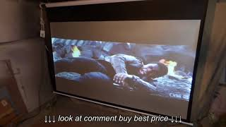 BEST 100 16:9 PROJECTOR SCREEN ON THE MARKET AT ONLY $695