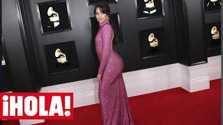El curioso motivo por el que la 'barriga' de Camila Cabello en los Grammy se ha vuelto viral