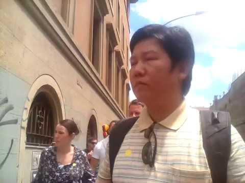 Mitayan Chakma Travelling in Vatican City Video Clip #1