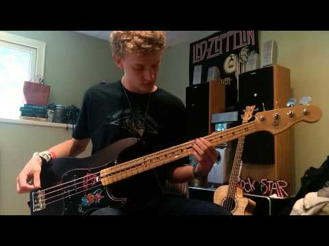 Avenged Sevenfold Unholy Confessions bass cover WITH TABS