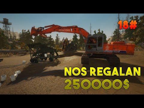 NOS REGALAN 250000$ #18 - Gold Rush Gameplay Español