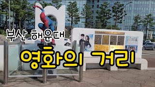 부산 해운대 영화의 거리 2021.8.26목