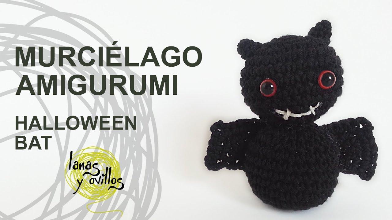 Tutorial Murciélago Amgirumi Bat Crochet o Ganchillo (English ...