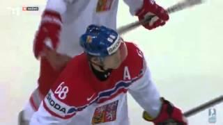 Slovensko-Česko základný zapas 2:3pp IIHF 2014 Bielorusko