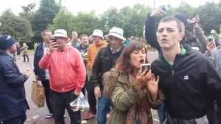 Stone Roses Fans Rock Glasgow Green - This Is The Resurrection!