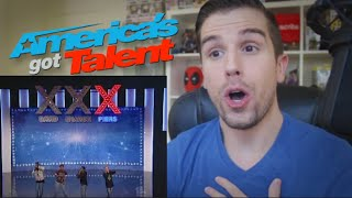 REACTING TO MY AMERICAS GOT TALENT TV APPEARANCE!!