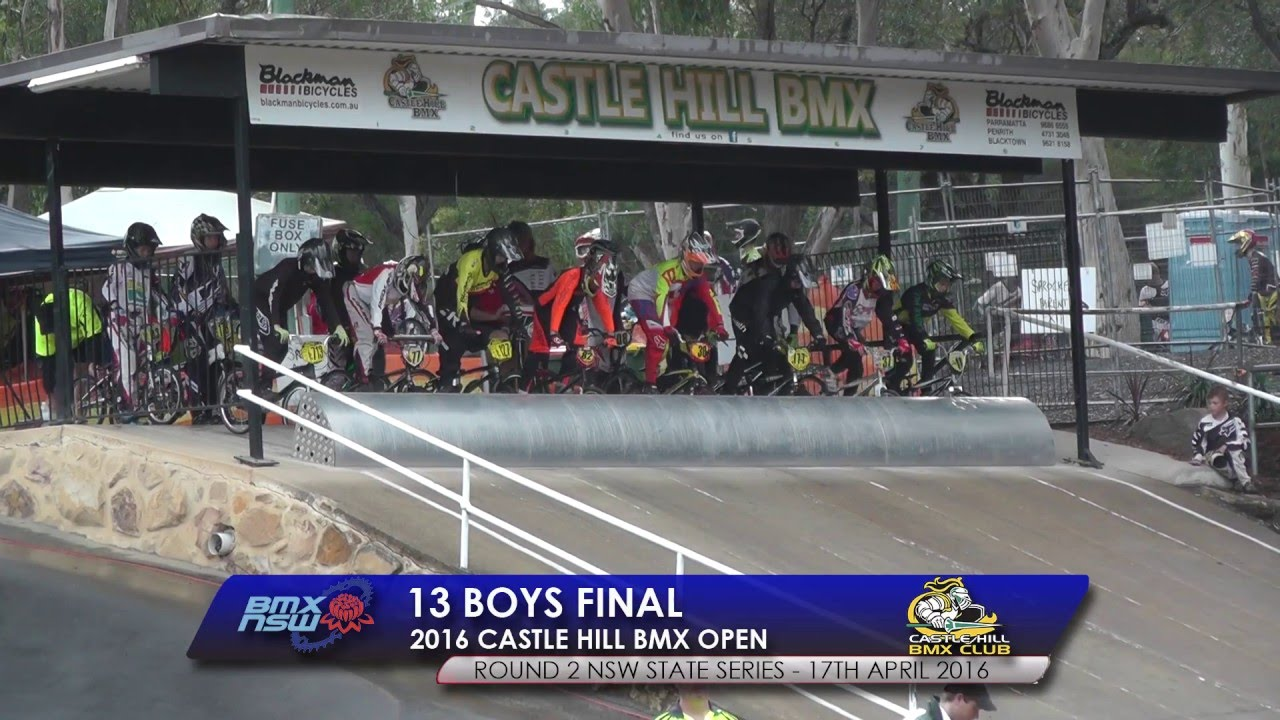 13 boys final 2016 castle hill bmx open - Open Castle 2016