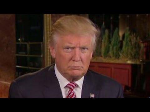 Donald Trump responds to President Obama's criticism