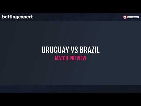 Top 3 betting tips for Uruguay vs Brazil