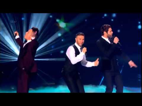 Take That   Rule the World ft  XF Finalists @ X Factor UK 13 12 2014 HD