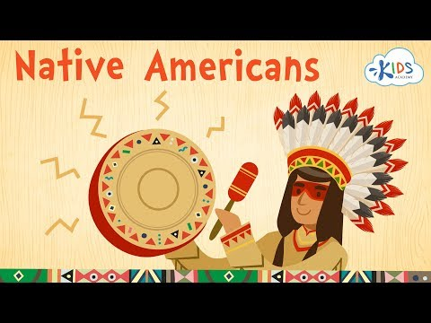 Native Americans For Kids: Cherokee, Apache, Navajo, Iroquois And Sioux