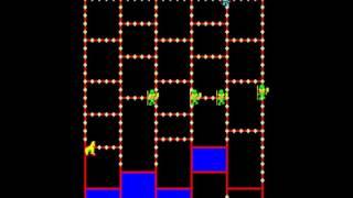 Amidar older MAME Gameplay video Snapshot -Rom name amidar1-