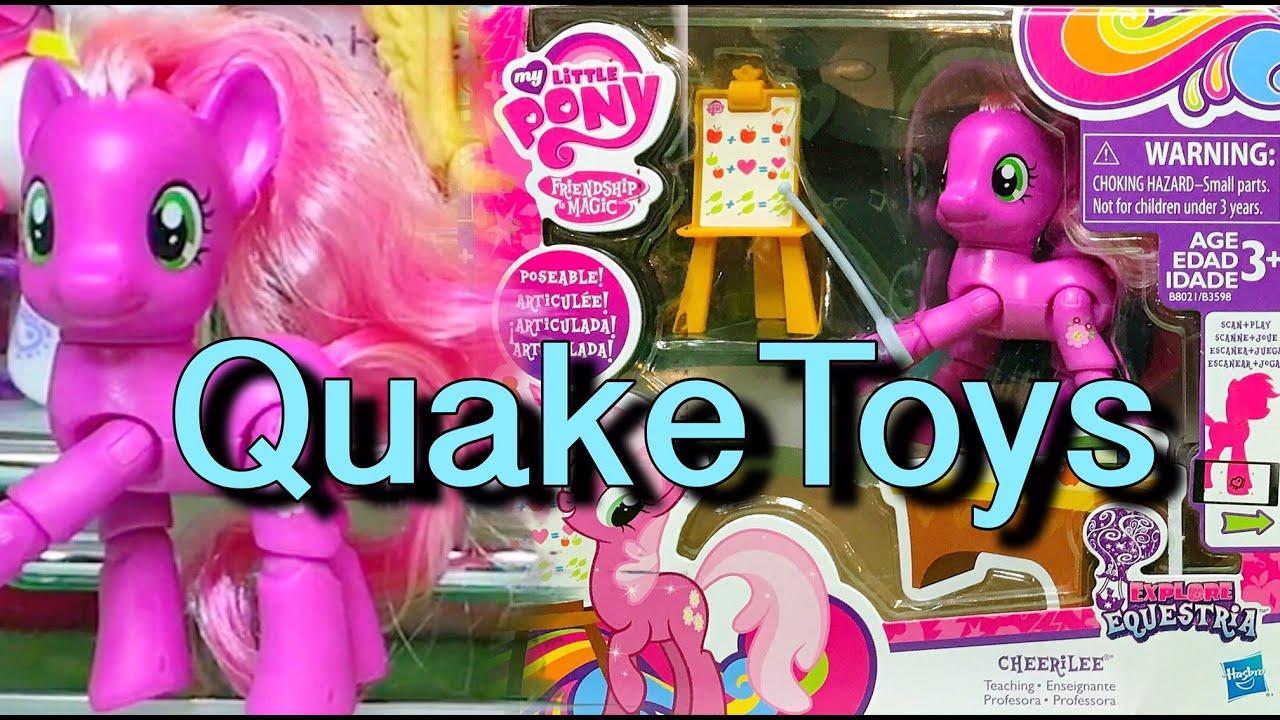 new my little pony action figure explore equestria teaching