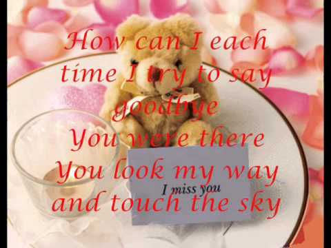 Lyrics you are my song