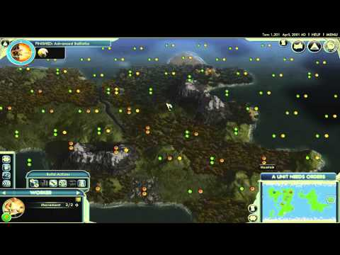 Civilization 5 lets play with atomic ep 1