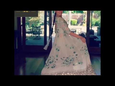 Alzawiah Designer Indian Party Wear Indo-Western And Tulle Lehenga Choli Dresses