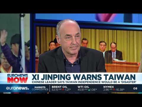 Chinese President Xi Jinping warns Taiwan   #EuronewsNow
