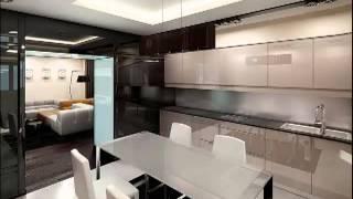 видео Дизайн интерьера кафе в хай-тек стиле