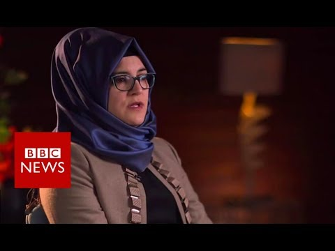 Jamal Khashoggi\'s fiancee on his murder  - BBC News