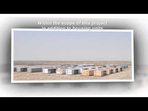 Prefabricated social housing project - Mass housing, Turkey