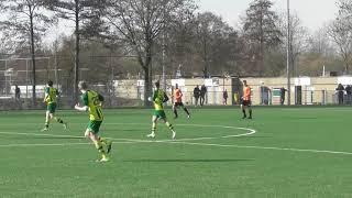 16 feb 2019 Brederodes 2 - VV De Meern 2 com 1-6 Jordy schoen kwijt, vrije bal tegen
