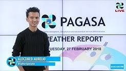 Public Weather Forecast Issued at 4:00 PM February 27, 2018