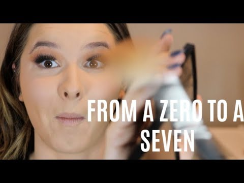 GRWM w/ a professional makeup artist! Watch me go from a 0 to a 7 thumbnail