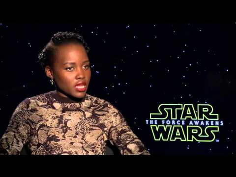 STAR WARS: Lupita Nyong'o on Playing Maz Kanata in THE FORCE AWAKENS